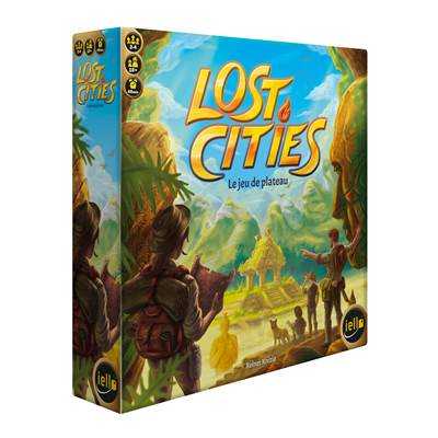 IELLO - Lost Cities : Le Jeu de Plateau