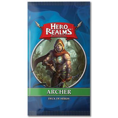 IELLO - Hero Realms - Deck de Héros : Archer (Display de 12)